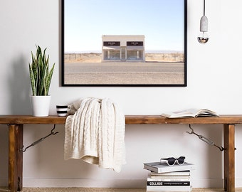 Marfa Texas • Prada Marfa Prada Poster Digital Prints Art Prada Marfa Print Prada Marfa Art Canvas Boho Decor Affiche Prada Large Prints