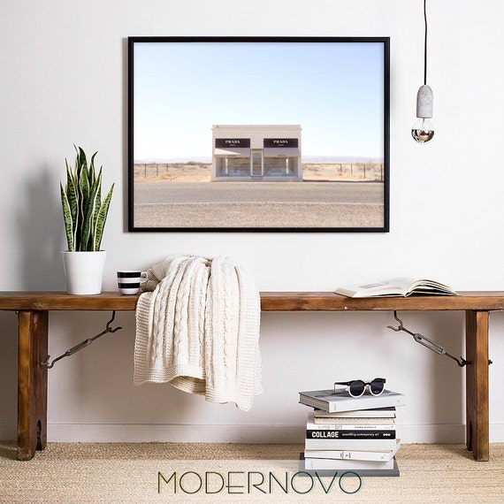 marfa texas prada marfa prada poster digital prints art. Black Bedroom Furniture Sets. Home Design Ideas