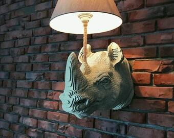 """Lamp """"Spirit of Africa"""""""