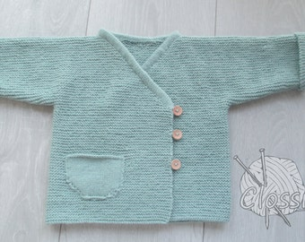 Soft baby jacket