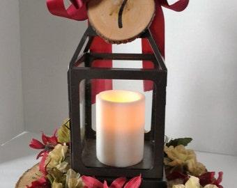 Rustic Elegant Romantic Centerpiece