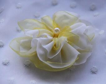 Hair Flower Wedding / Bridal Hair Flower/ Bridal Hair Accessories/ Wedding Hairpiece/ Wedding Headpiece/Wedding Hair Flower/Boho Hair Flower