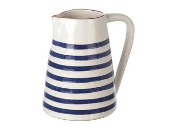 Striped jug