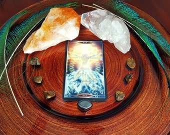 One Card Intuitive Reading | Quantum Tarot | Sent via e-mail in PDF Format