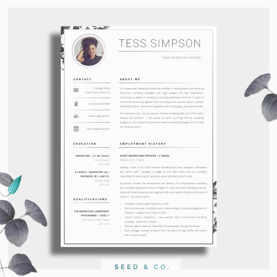 one page resume format free download template creative two professional cover letter advice printable word the single latex