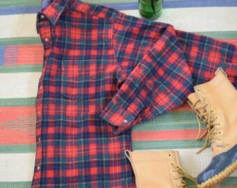 Vintage Tartan Plaid Pendleton Shirt