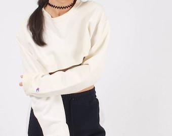 Vintage Champion Cropped Sweatshirt