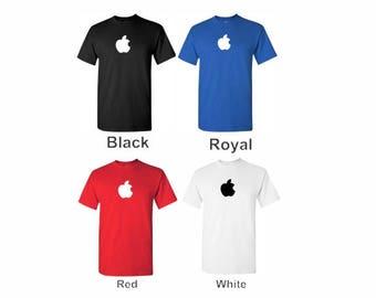 Think Different T Shirt Logo  Men's Multi-Color Steve Jobs Tribute T-Shirt