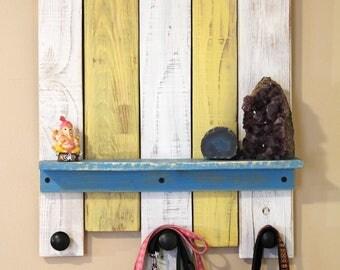 Repurposed Pallet Wood Wall Decor