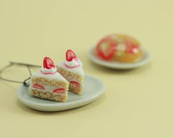Strawberry Shortcake Earrings