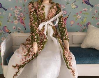 Spring Blossom art doll