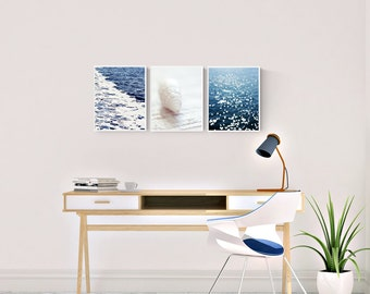 nautical photography, coastal wall art photos, set of 3 coastal prints, nautical bedroom art, beach photography prints, gallery wall prints