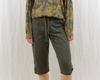 Vintage Long Sleeved Camo Shirt, 50/50 Blend, Soft, Made in the USA, Grunge, Outdoor Clothing, Unisex, Size Medium-Large