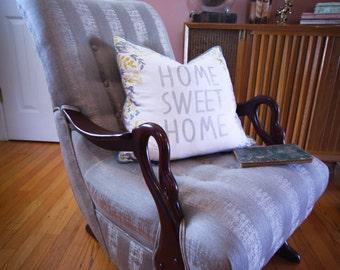 NEW Antique 1930s Swan Arm/Gooseneck Rocking Chair - vintage, chair ...