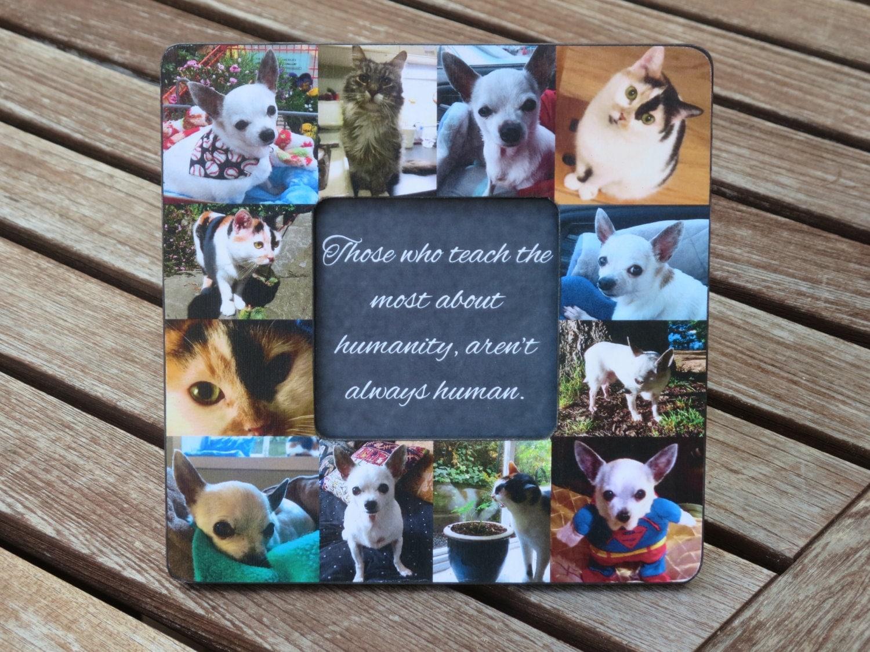 Pet Memorial Frame Personalized Pet Memorial Picture Frame