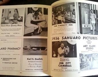 1956 yearbook Arizona State University