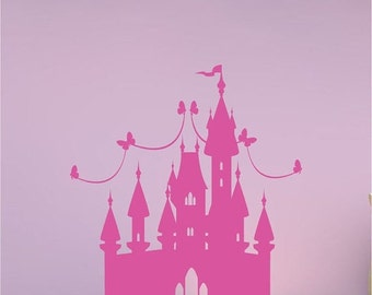 Castle Wall Decal Etsy - Locations where sell wall decals