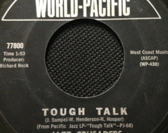 SALE Jazz Crusaders/ Tough Talk/ The Thing Original 45