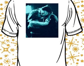 Kiss Kiss Lauries Lips (3 variations) Halloween Michael Myers Laurie Strode shirt horror clothing tshirt vhs 70s john carpenter pop art