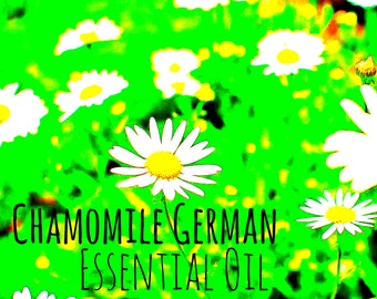 German Chamomile Essential Oil | Pure Essential Oils | Aromatherapy Oil
