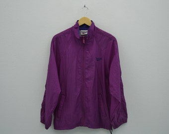 Reebok Windbreaker Men Size S/M Vintage Reebok Jacket 90s Reebok Vintage Activewear