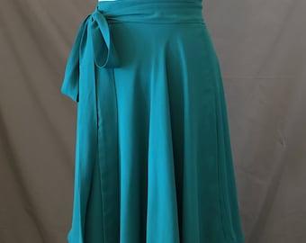 Georgette Misha Wrap Skirt