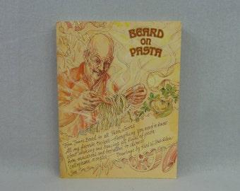 1983 Beard on Pasta - James Beard - Karl W Stuecklen Illustrations - Noodle Recipes - Vintage 1980s Cookbook Cook Book