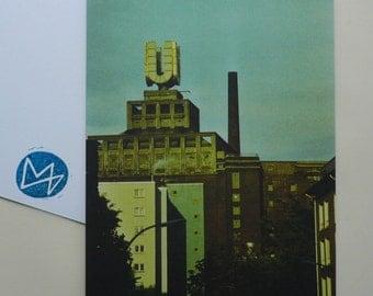 Dortmunder U, eight postcards, postcards, set, minnievoss, analog photography, offset printing, postcard, postcard, Dortmund