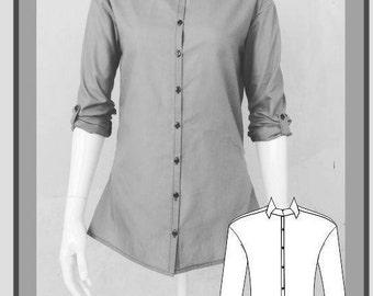 Angelique Ladies Shirt Sewing Pattern