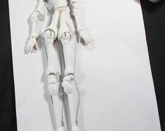 3D Printed Core Form to make a BJD