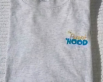 """1995 """"The Parent 'Hood"""" Television Show Promotional T-Shirt // The WB // Adult Size Large"""