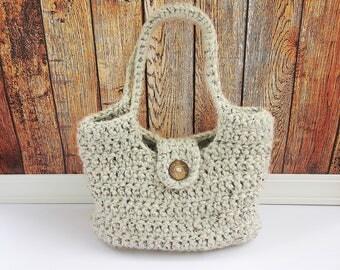 Chunky Crochet Handbag