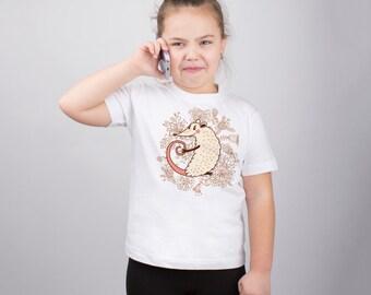 Animal Print Mouse Shirt for Kids Cute Tshirt Mouse Print Mouse Art Girls Clothing Kids Shirt Childs Shirt Cute Tee Graphic Tee PA1095