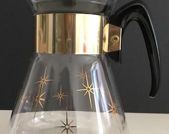 Vintage Constellation Pyrex Coffee Carafe