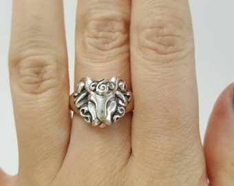 Ram Ring in Sterling Silver, silver aries ring, zodiac ring aries, aries ram ring, silver ram ring, zodiac jewelry, aries zodiac jewelry