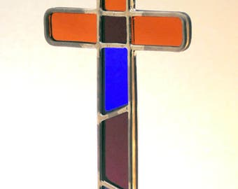 Small Multicolored Cross