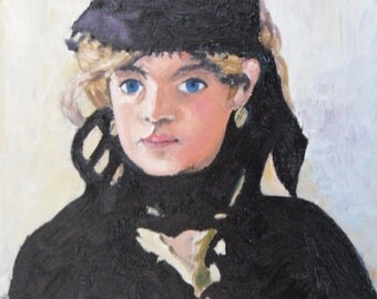 Berthe Morisot by Edouarde Manet