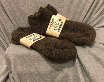 Alpaca Socks (Light Brown)