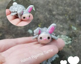 New! Rabbit Pajama Turtle