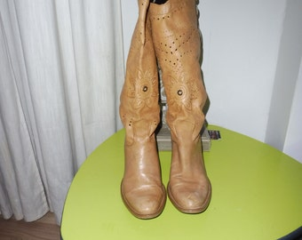 Boots leather size 37 EN Mall