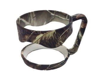 Personalized Optional Camo Camouflage Tumbler Handle • Fits 30oz: Yeti, RTIC, Ozark, Polar Camel and other tumblers