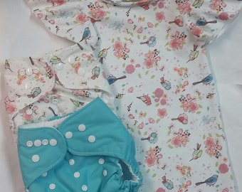 Little Birds Dress and Diapers