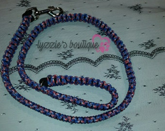 Paracord Captain America Inspired Leash