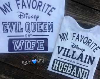 His and hers disney shirts