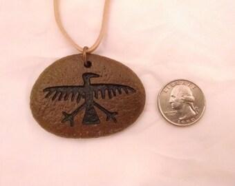 Raven Totem Pendant (IN0171)