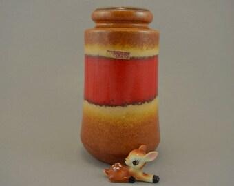 Vintage vase / Scheurich / 549 21 / Fabiola | West Germany | WGP | 60s