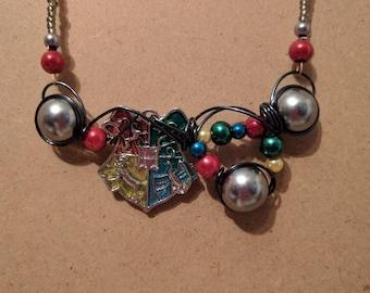 Hogwarts necklace
