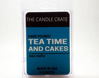 Tea Time and Cakes Scented Soy Wax Melts