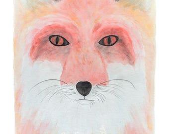 Eco-Friendly Fox Print 'Speak To Your Fox' - A4
