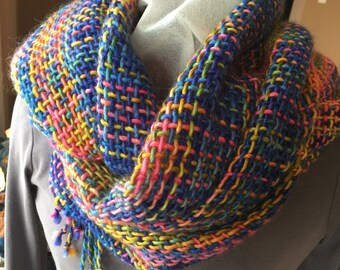Woven oversized scarf/ shawl